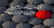 شعر در مورد ادب ، تواضع و احترام و مهرورزی و اخلاق و معرفت و تربیت از مولانا
