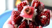 شعر در مورد انار ، ترک خورده و پاییز و عاشقانه و کودکانه