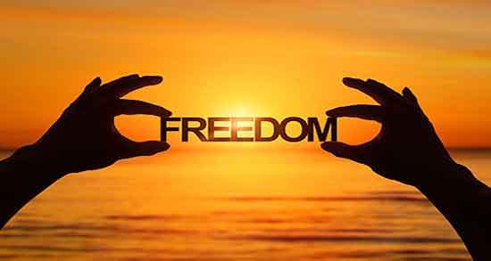 شعر در مورد آزادی