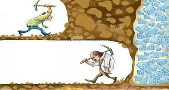 شعر در مورد پشتکار ، و تلاش و موفقیت و توانایی انسان . همت والا و پیشرفت
