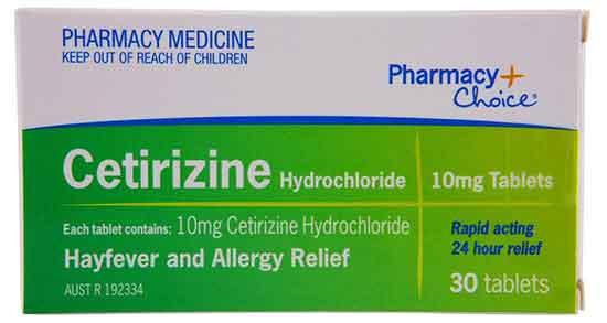 قرص سیتریزین , قرص سیتریزین خارجی , قرص سیتریزین 10 در بارداری , قرص سیتریزین هگزال
