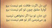 شعر مولانا ، گزیده زیباترین اشعار مولانا