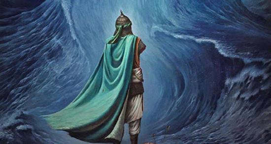 شعر در مورد حضرت عباس ، علیه السلام فارسی و ترکی برقعی و لطیفیان