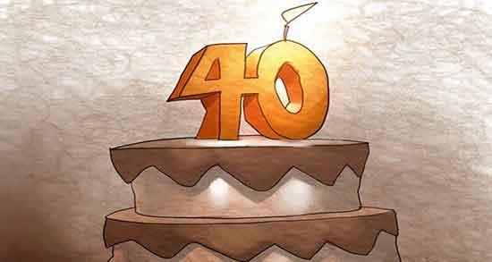 شعر در مورد چهل سالگی ، متن و جملات زیبا در مورد چهل سالگی ، حدیث و عکس نوشته در مورد چهل سالگی