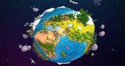 شعر در مورد کره زمین ، شعر کوتاه و کودکانه و سیاره زمین گرد است