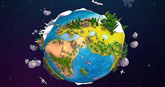 شعر در مورد کره زمین