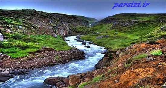شعر در مورد رودخانه