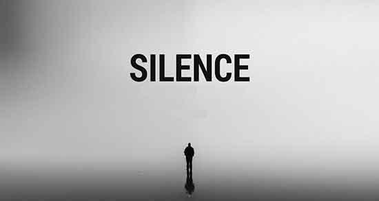 شعر در مورد سکوت ، شعر در مورد سکوت در برابر ظلم ، شعر در مورد سکوت شب و عشق و عاشقانه