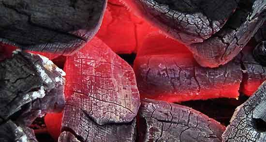 شعر در مورد زغال
