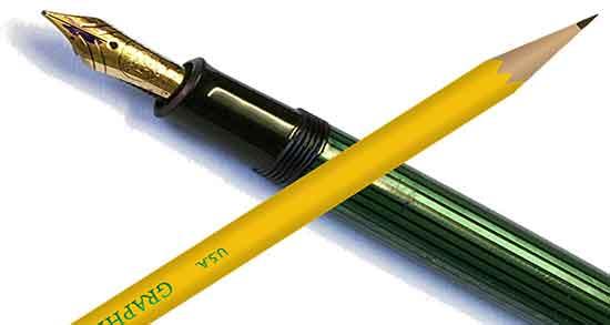 شعر در مورد قلم