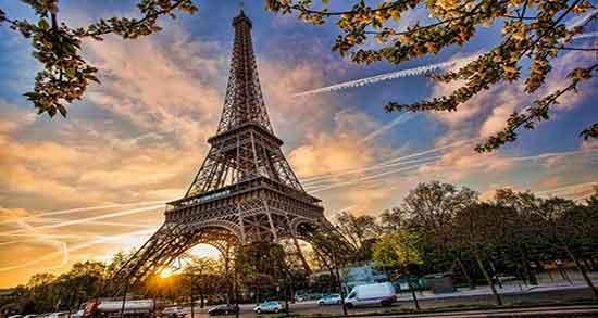 شعر در مورد پاریس