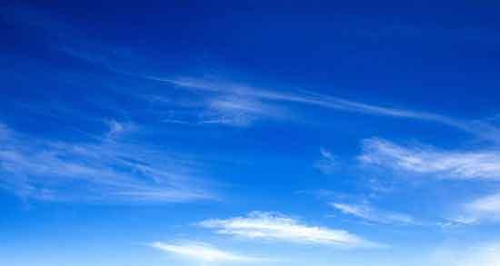 متن در مورد آسمان