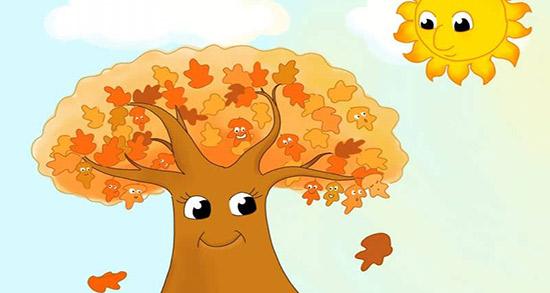 شعر در مورد پاییز کودکانه ، شعر کودکانه پاییز و پاییزه برگ درخت میریزه صوتی