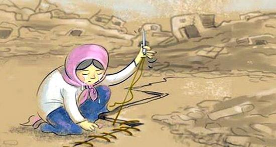 شعر در مورد زلزله ، متن کوتاه غمگین و شعر کودکانه در مورد زلزله کرمانشاه