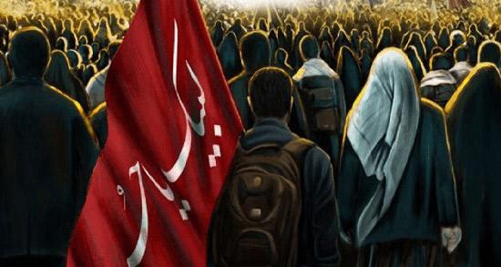 شعر در مورد تسلیت اربعین ، دلنوشته و پیام و متن ادبی تسلیت اربعین حسینی