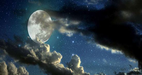 متن ادبی در مورد ماه آسمان ، شعر و متن کوتاه درباره ماه شب و مهتاب از حافظ