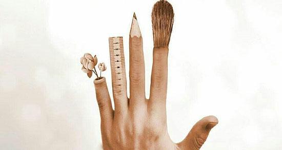 متن عاشقانه برای چپ دستها ، شعر طنز و متن زیبا درباره چپ دست بودن