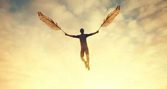 متن در مورد پرواز انسان ، پرواز هواپیما در آسمان + پرواز روح و اوج گرفتن