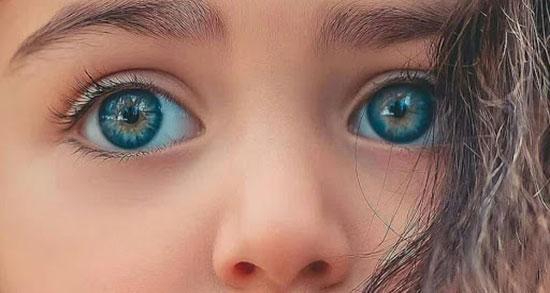 متن در مورد چشم ، متن زیبا درباره چشم رنگی و آبی + چشمانم و چشمان من