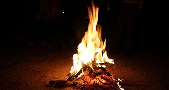 متن درباره شعله آتش ، شعر و جمله کوتاه درباره آتش و شب و گرمای آتش و خاکستر