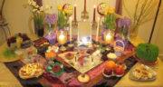 شعر حافظ در مورد هفت سین ، دو بیتی در وصف بهار از سعدی و پروین اعتصامی