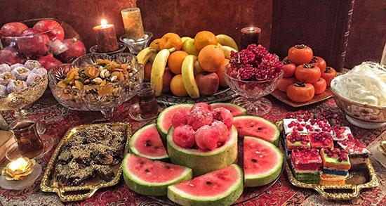متن در مورد شب یلدا به زبان انگلیسی ، انشا ساده درباره شب یلدا به انگلیسی