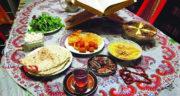 شعر طنز افطار ، شعر عرفانی ماه رمضان و سفره افطار عاشقانه