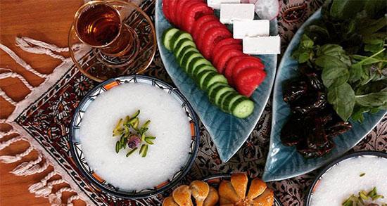 اس ام اس وقت افطار ، شعر عطش و صلوات برای ماه رمضان + شعر ماه رمضان شاد