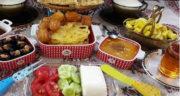 شعر در مورد افطار ، شعر عاشقانه و کوتاه در مورد سفره افطاری