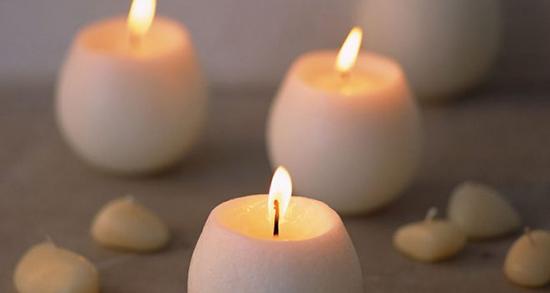 شعر دوست دارم شمع باشم ، تا که خود تنها بسوزم و دردل شبها بسوزم