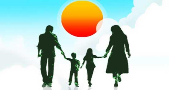 جملات ناب دوست داشتن خانواده ، متن زیبا و ادبی در مورد خانواده خوشبخت