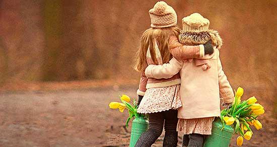 شعر دوستی کوتاه ، و کودکانه + شعر درباره دوست از فریدون مشیری